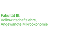 Volkswirtschaftslehre (Jun.-Prof. Hunold)