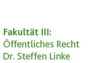 Wirtschaftsrecht (Dr. Steffen Linke)