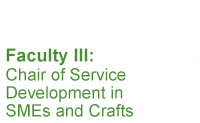Chair of Service Development in SMEs and Crafts