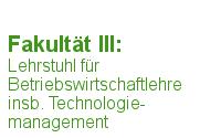 Betriebswirtschaftslehre (Prof. Dr. Ulf Lorenz)