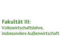 Volkswirtschaftslehre (Prof. Dr. Jan Franke-Viebach)
